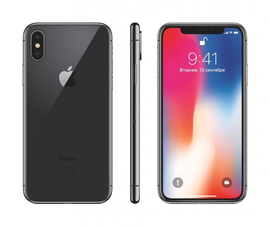 «Серый космос» признали самым востребованным цветом iPhone X