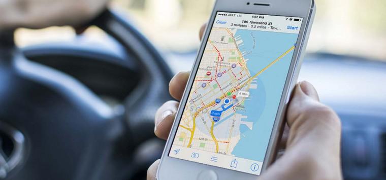 Новая навигация от Apple