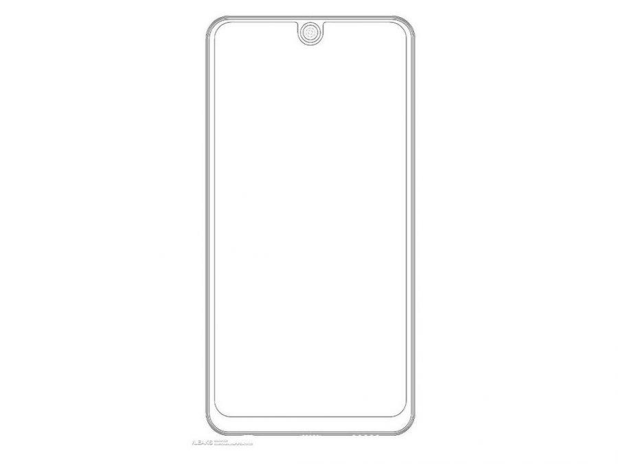 Компания LG запатентовала новый смартфон