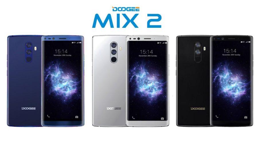 Doogee готовит к презентации MIX 2 с 128 ГБ флеш-памяти