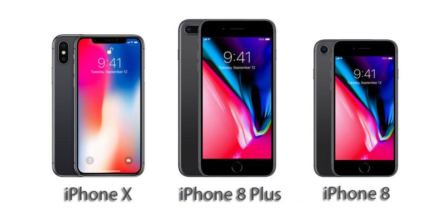 Снижение цены на iPhone X и iPhone 8