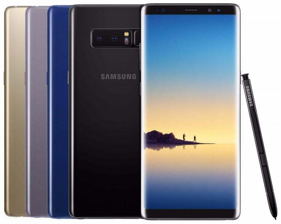 Samsung Galaxy Note 8 теперь имеет более усовершенствованную защиту