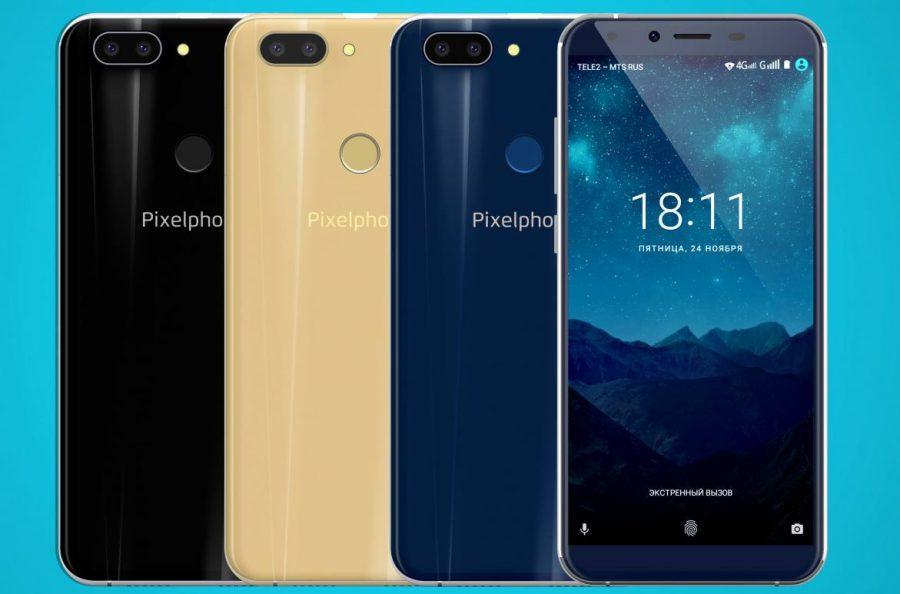 PixelPhone S1 теперь можно приобрести в России