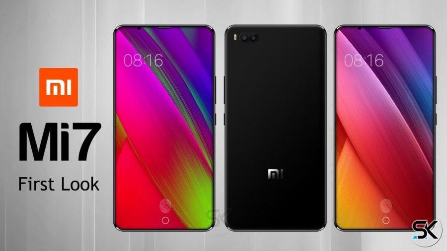 Смартфон Mi 7 от компании Xiaomi теперь можно увидеть на живых фотографиях