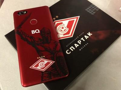 BQ Advance Spartak Edition стал доступен для покупки в России